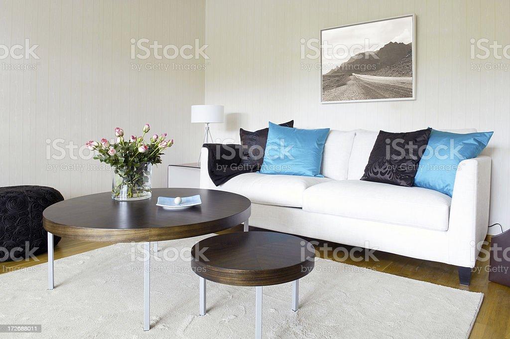Stylish interior royalty-free stock photo