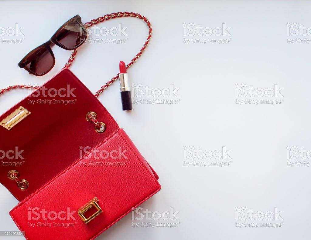 Stylish items stock photo