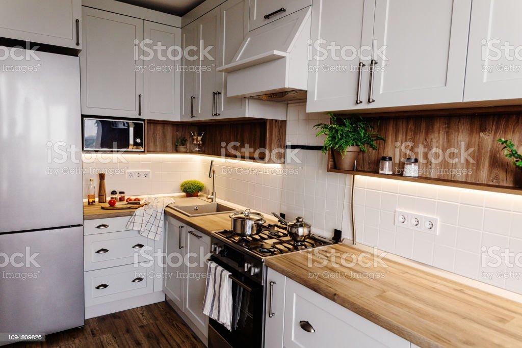 Cocina Con Estilo Diseño De Interiores Muebles De Cocina De Lujo En ...