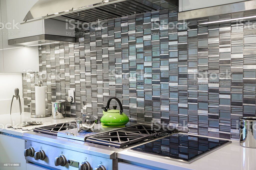 Stylish Kitchen stock photo
