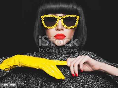 istock Stylish lady 469211680