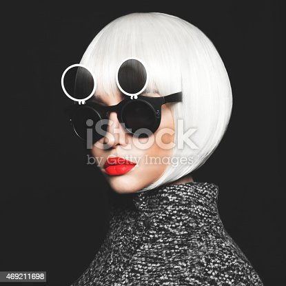 469211680 istock photo Stylish lady 469211698