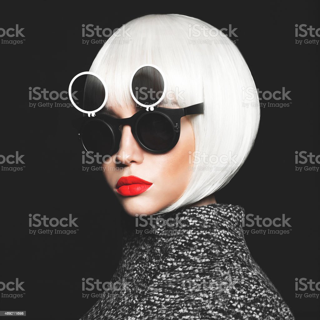 Stylish lady stock photo