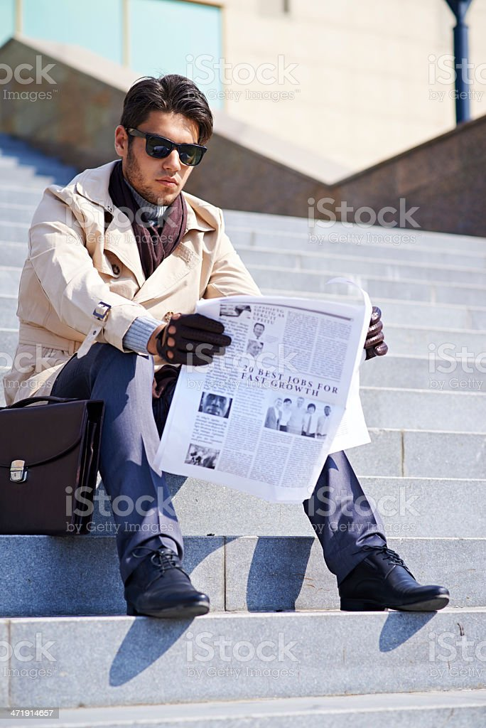 Stylish man royalty-free stock photo