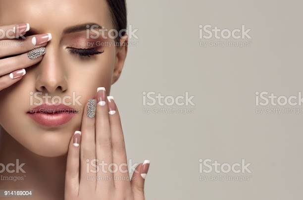 Stylish manicure and make up in a palepink color picture id914169004?b=1&k=6&m=914169004&s=612x612&h=ws0t5ojprzbdtuu pgbjy2uqc8al9a8odo4zlll3x58=