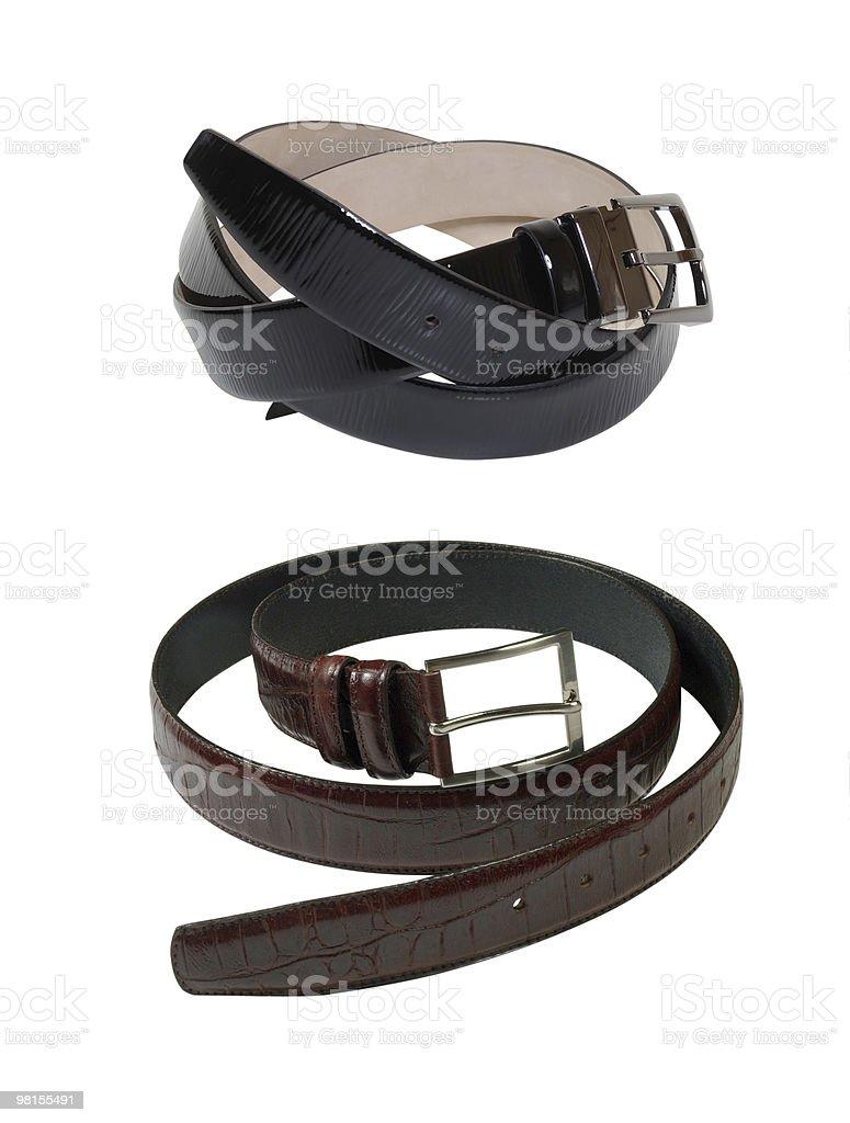 Stylish man's belt royalty-free stock photo