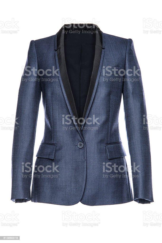 stylish men's jacket on a white background stock photo