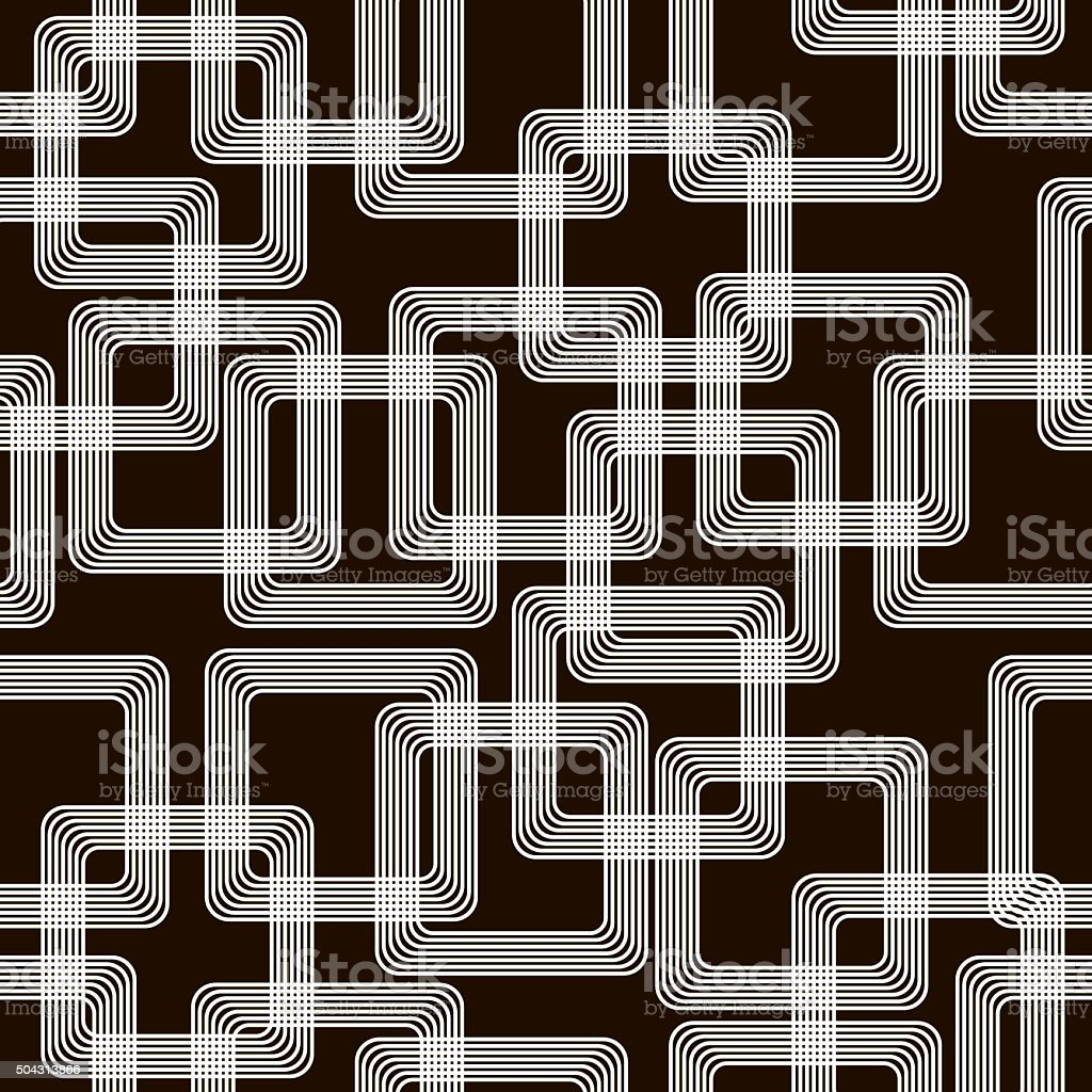 Stylish modern black and white seamless pattern stock photo