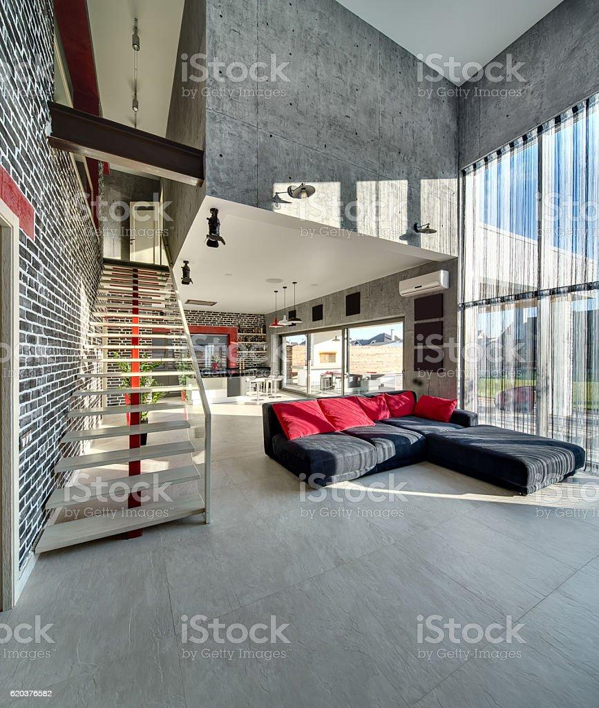 Estilo moderno, interior foto de stock royalty-free