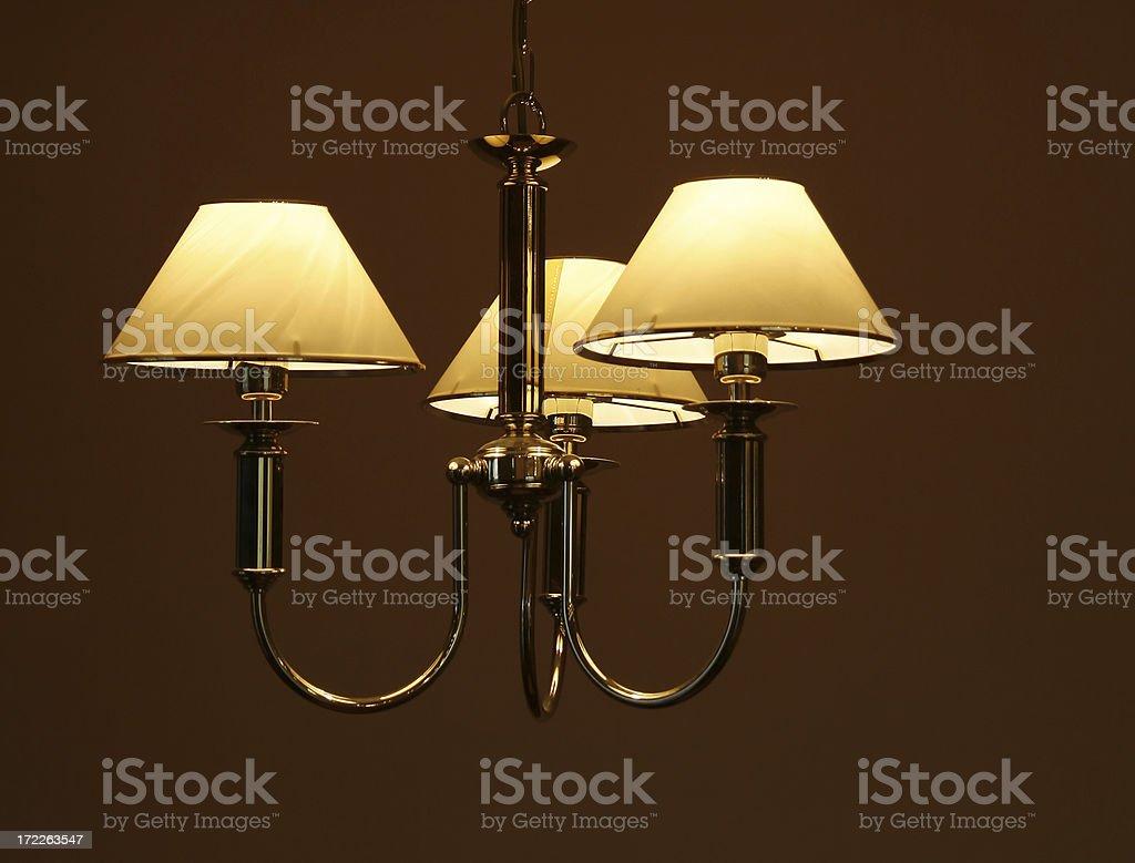 Stylish modern lamp royalty-free stock photo