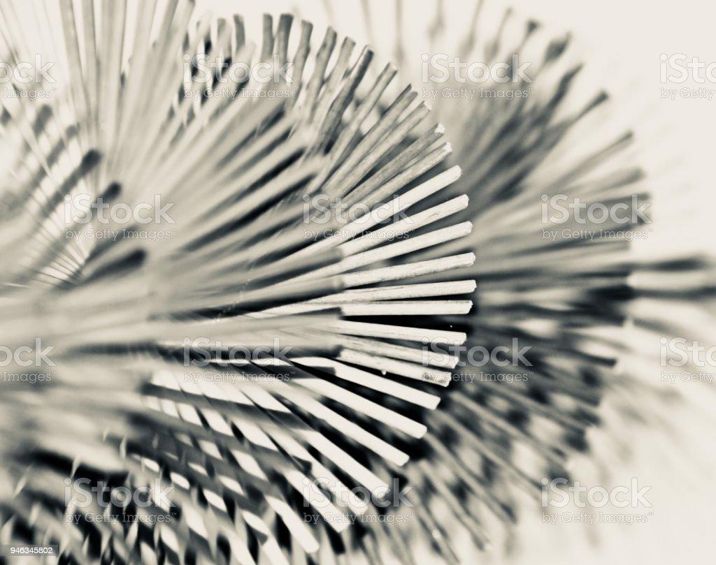 Stylish object black and white background photo royalty-free stock photo