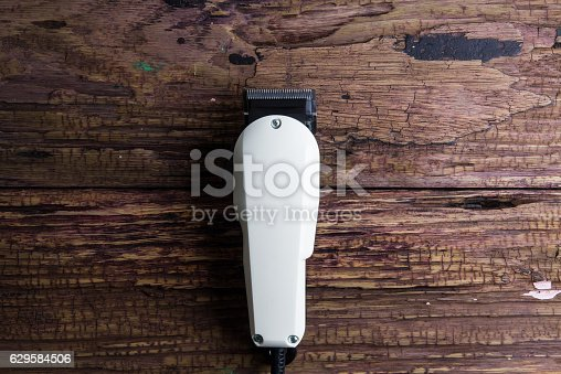 1041901666 istock photo Stylish Professional Barber Clippers, Hair Clippers, Haircut acc 629584506