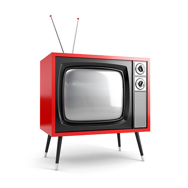 Stilvoller retro-Fernseher – Foto