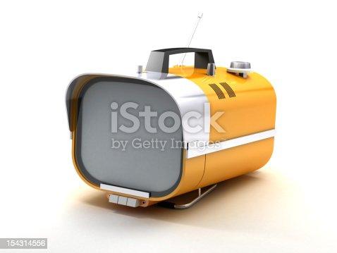 istock stylish retro TV sixties 154314556