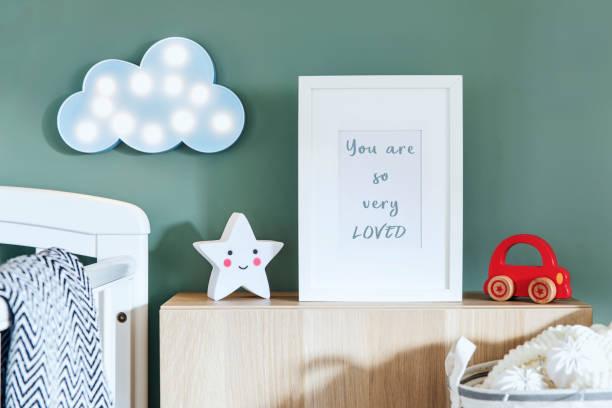 Stylish scandinavian newborn baby room with toys teddy bear cotton picture id979584790?b=1&k=6&m=979584790&s=612x612&w=0&h=5uhw0iqypa5sep68g vbpsdmf oonsjmjkk9p7dupi0=