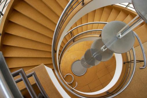 Stylish Spiral Staircase