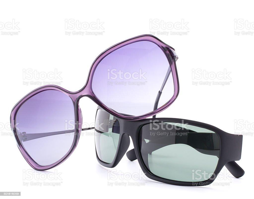 Stylish sunglasses pair stock photo