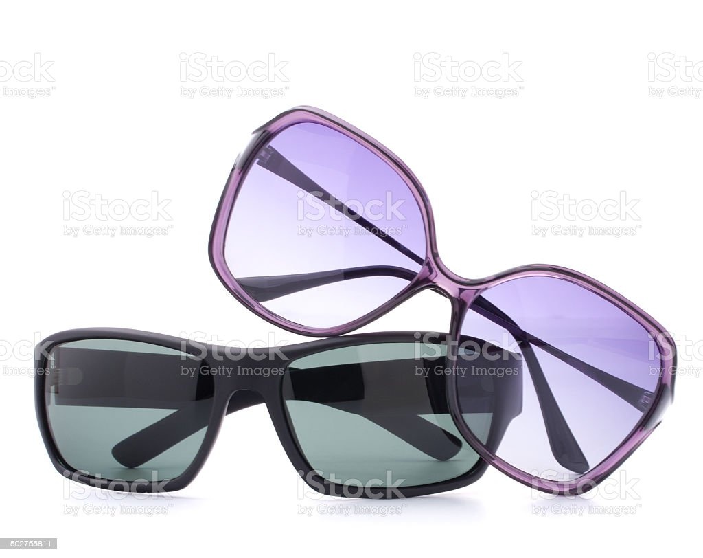 Stylish sunglasses pair stock photo