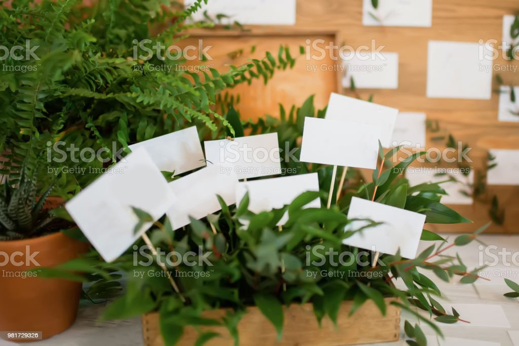 Stylish Table List Seating Plan For Wedding Reception Greenery Style