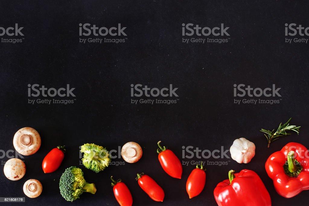 Stilvolle vegetarische Hintergrund. – Foto