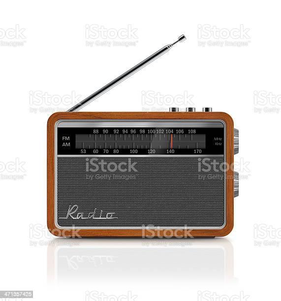 Elegante Vintage Tragbares Radio Stockfoto und mehr Bilder von 1960-1969