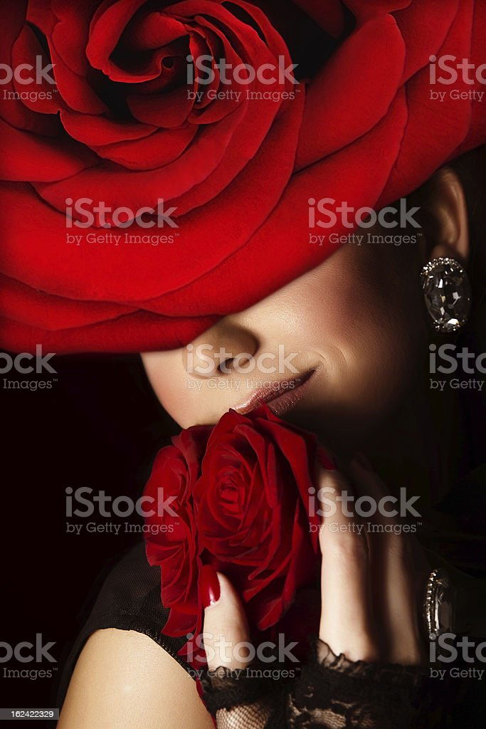 Stylish woman royalty-free stock photo