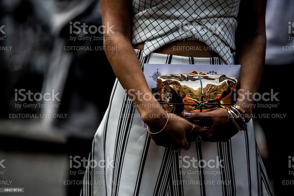 Stylish women stock photo