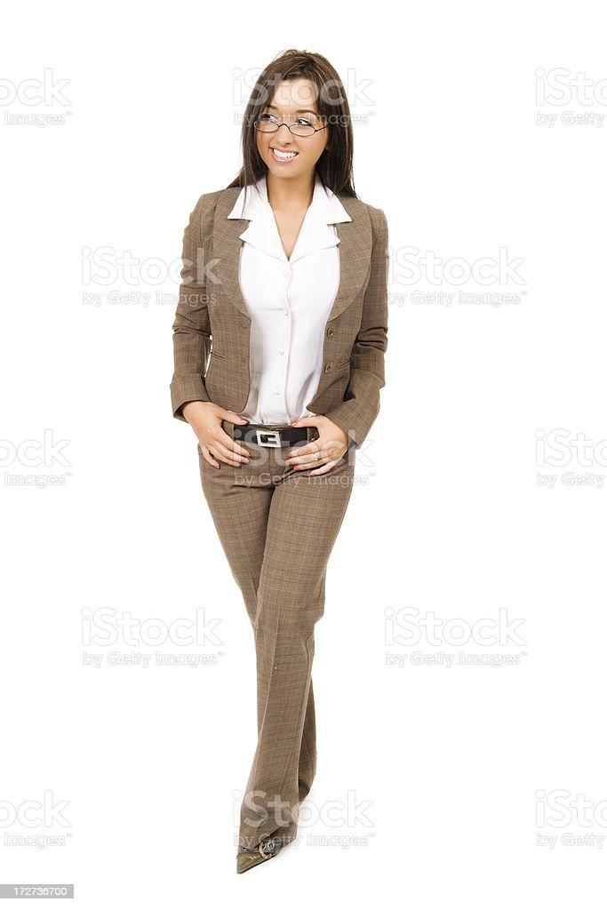 Stylish Young Businesswoman royalty-free stock photo