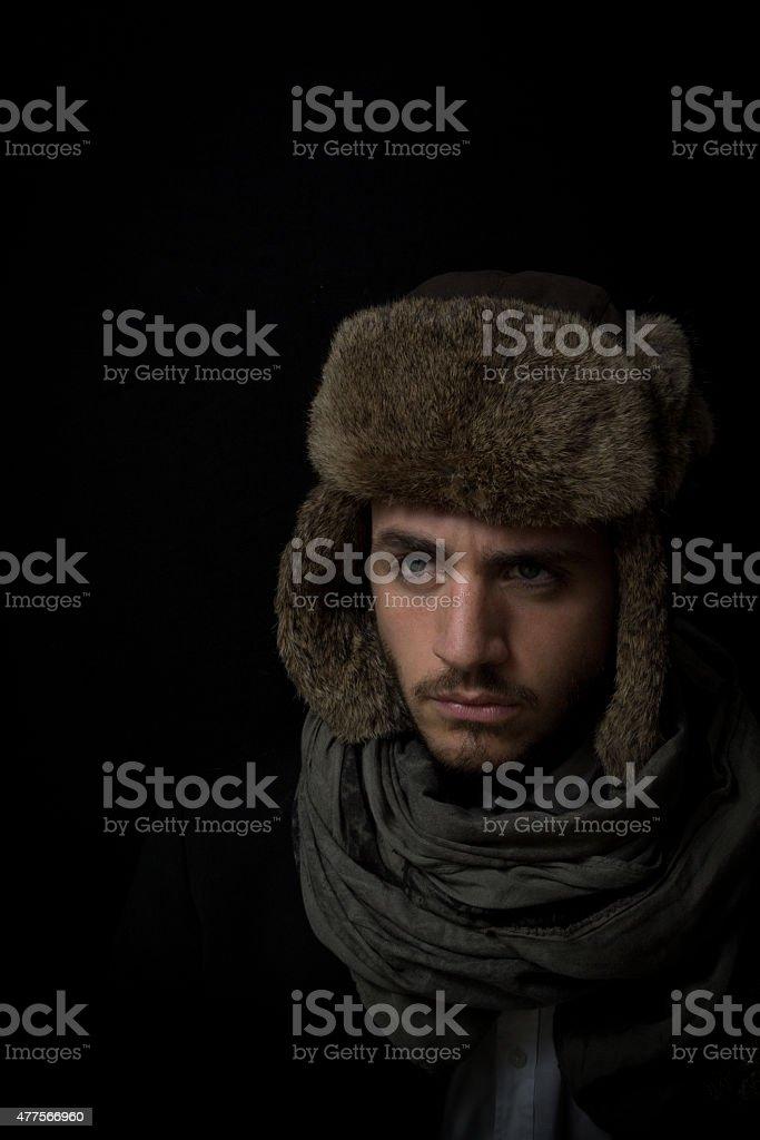 Stylish young man stock photo
