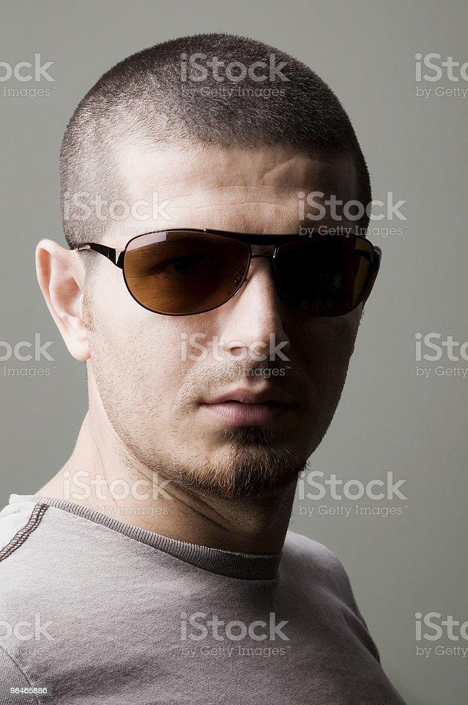 스타일리쉬 젊은 남자 royalty-free 스톡 사진