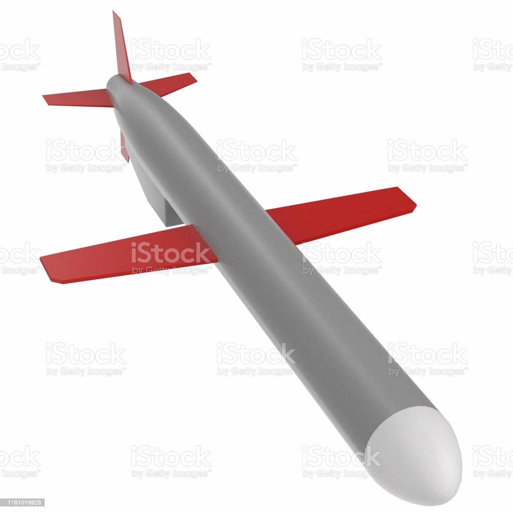 定型化されたbgm109トマホーク巡航ミサイル - スクエアのストック ...