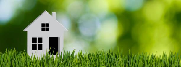stylized image of a house closeup stylized image of a house closeup mortgage loan stock pictures, royalty-free photos & images
