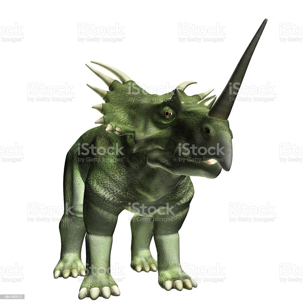 Styracosaurus stock photo