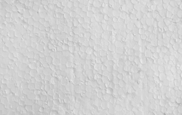 Styrofoam, background texture. stock photo