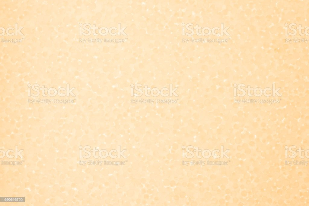 Styrofoam light orange background stock photo