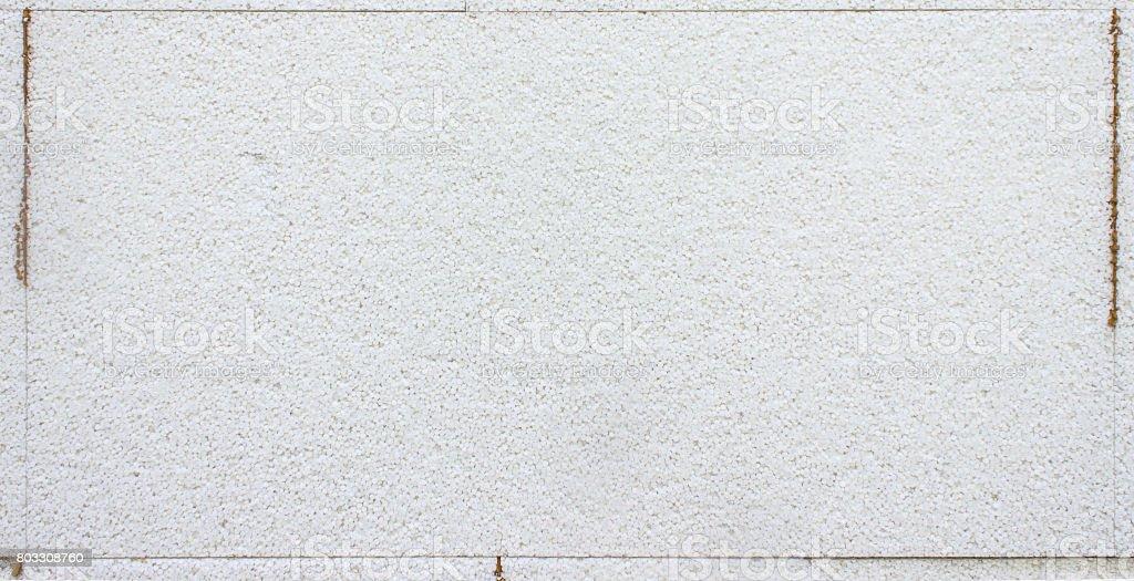 Styrofoam wall, warming stock photo