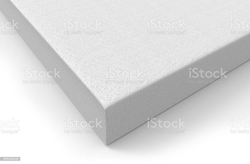 Styrofoam white block royalty-free stock photo