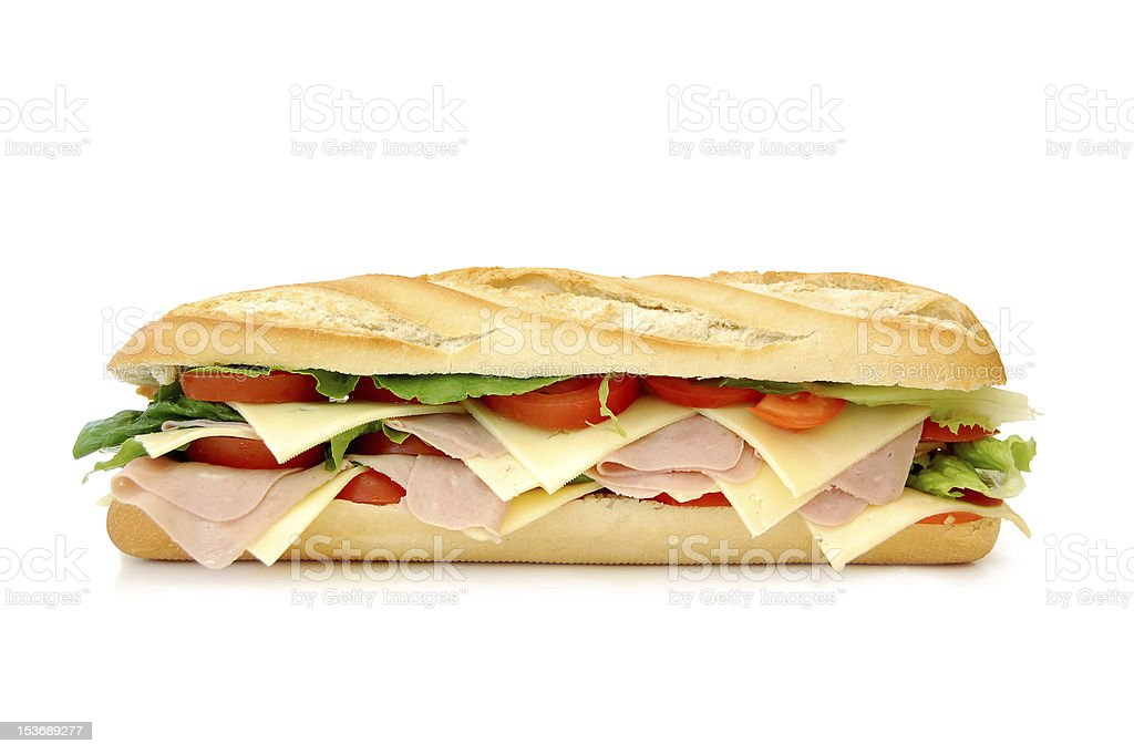 Sub sandwich royalty-free stock photo