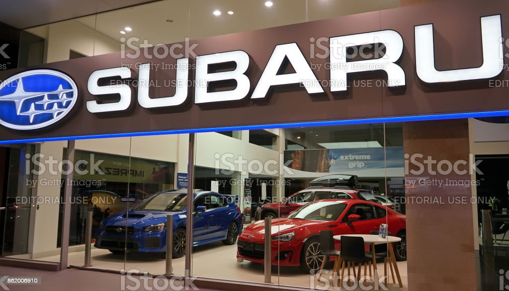 Subaru automobile dealership on Forbes Street