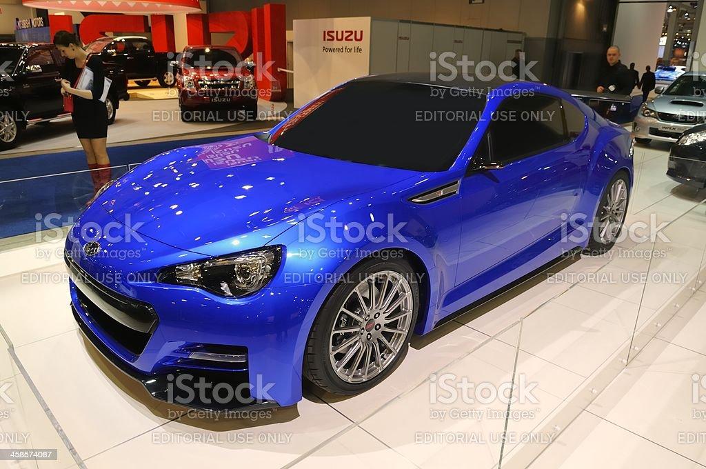 Subaru BRZ Concept - STI stock photo