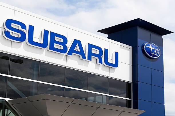 Subaru Dealership stock photo