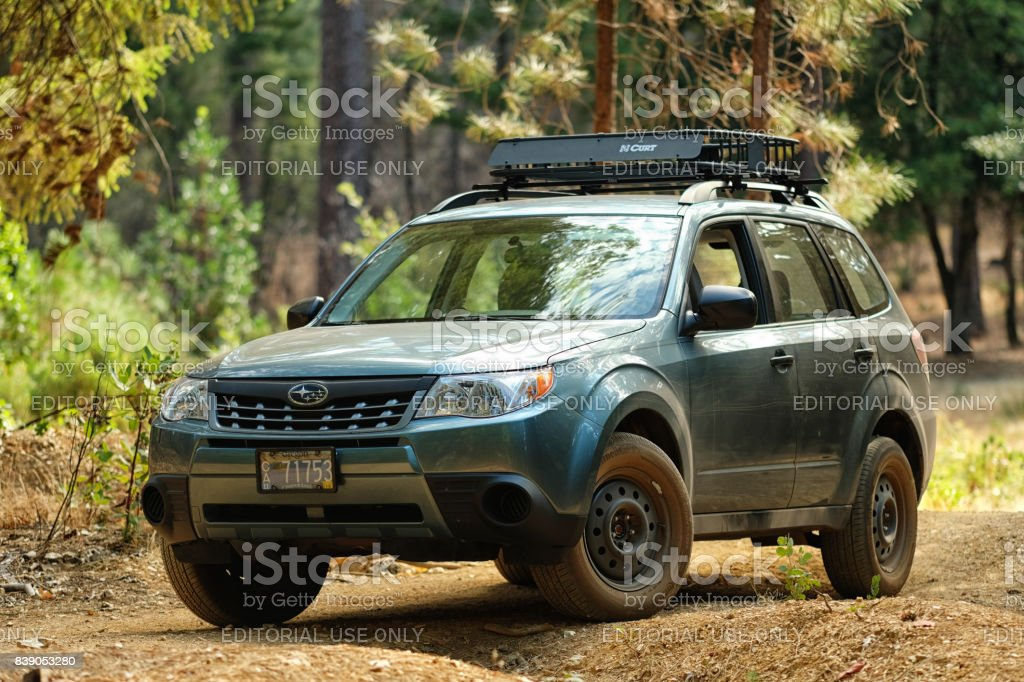 2012 Subaru Forester 25x Off Road Stock Photo - Download