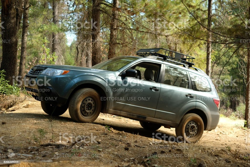 2012 Subaru Forester 25x Off Road Stock Photo Download Image Now Istock