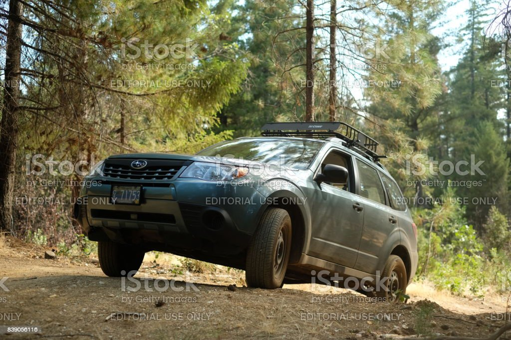 Subaru Forester Off Road >> 2012 Subaru Forester 25x Off Road Stock Photo Download