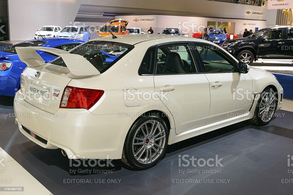 Subaru Impreza WRX STI royalty-free stock photo