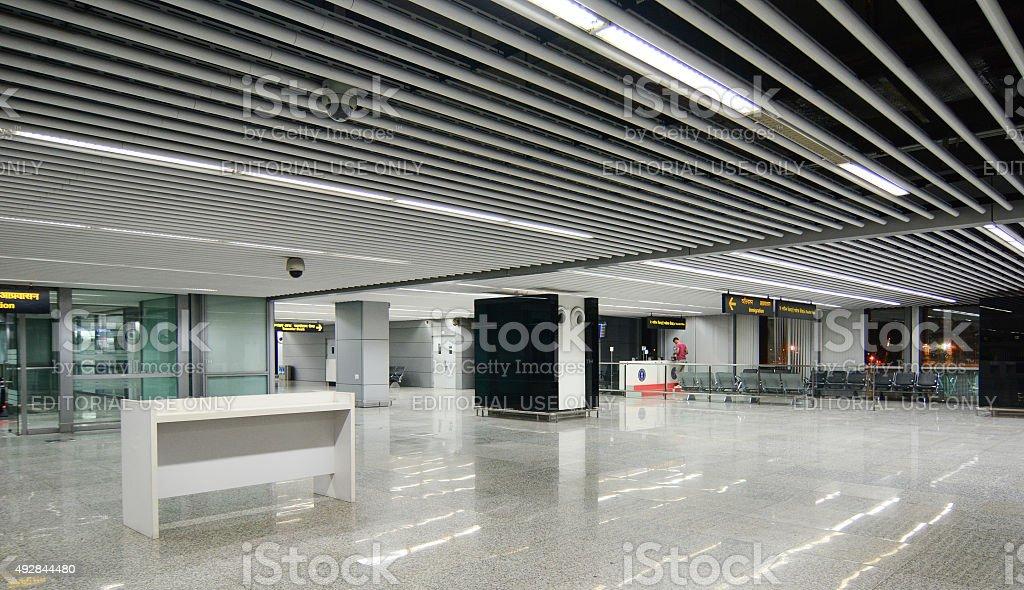 Subhash Chandra Bose International Airport in India stock photo