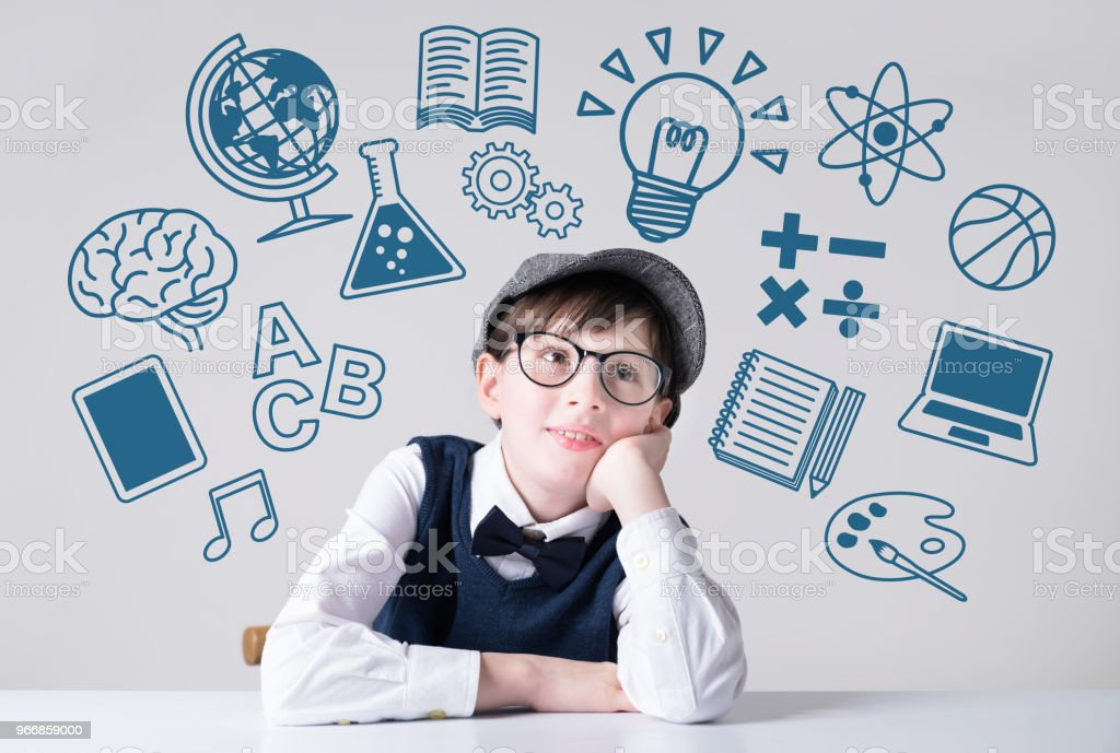 Subjects of school concept. - foto stock