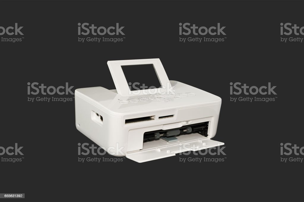 Sublimation printer. stock photo