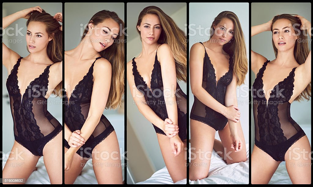 Sublime sensuality stock photo