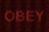 Subliminal message: Obey